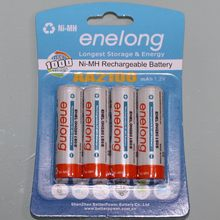 4 шт. оригинальный новый BPI а . а . enelong никель-металлогидридные аккумуляторы 2A 2100 мАч 1.2 В ni mh аккумуляторная батарея бесплатная доставка
