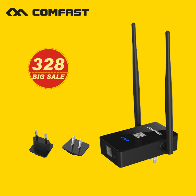 COMFAST 750Mbps WIFI Repeater signal amplifier 2.4G/5.8G Wireless Wi fi router repeater Extender Dual Band 802.11AC Roteador(China (Mainland))