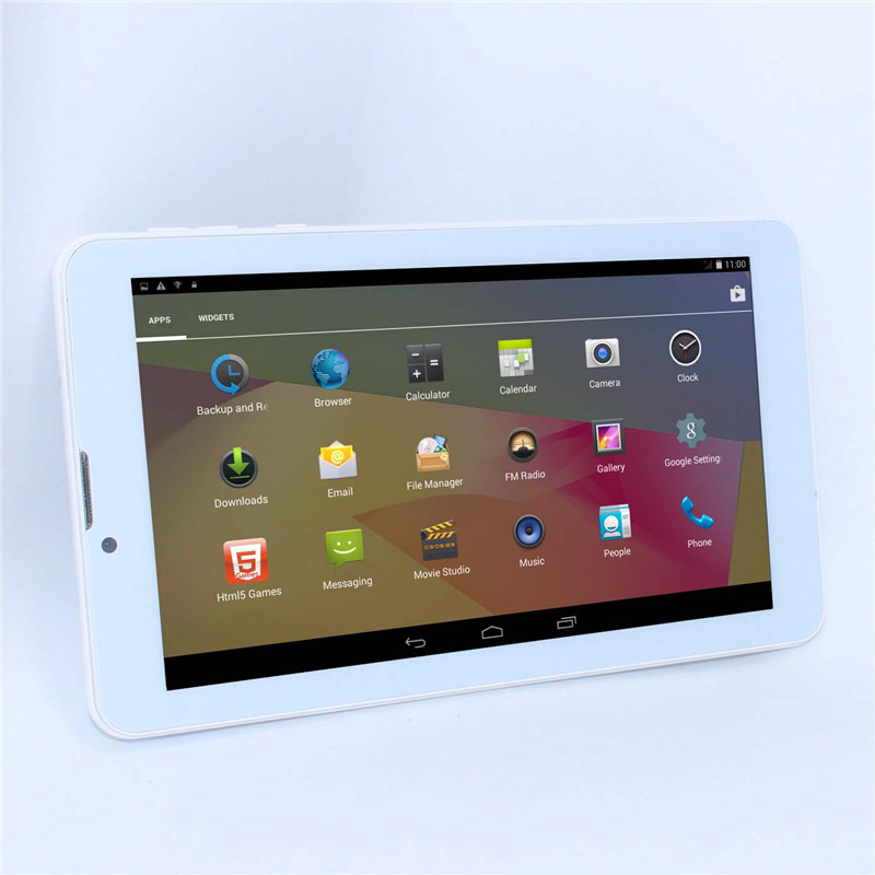"Sale!!!7"" Mini Cheap Tablet pc Andriod 4.2 MTK6572 Dual Core 3G Phone call Dual SIM 4G GPS wifi buletooth GSM/WCDMA(China (Mainland))"