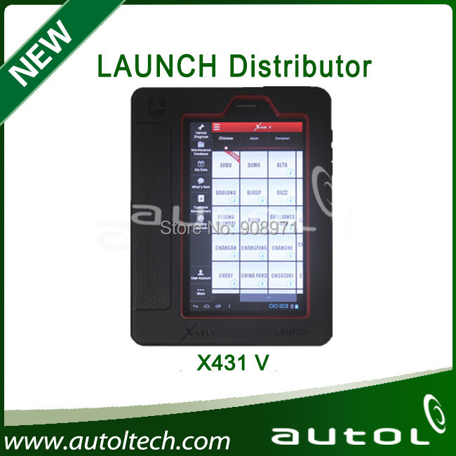2014 Authorized Launch X431 V (Pro) Global Version (can buy extra Printer)<br><br>Aliexpress