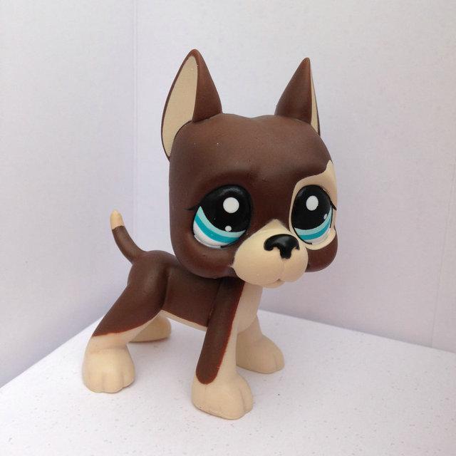 Pet Shop Животные Куклы LPS Рисунок Ребенка Игрушки Gril Дог Собаку Без Магнита DWA333