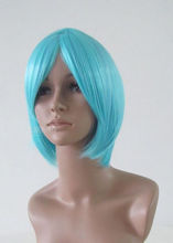 NEON GENESIS EVANGELION AYANAMI REI Full Party Customs Cosplay wig M115