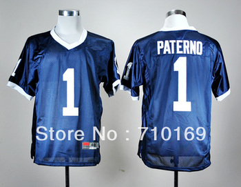 Penn State Nittany Lions  Joe Paterno 1  Men's College Football Jerseys  mix order Free Shipping