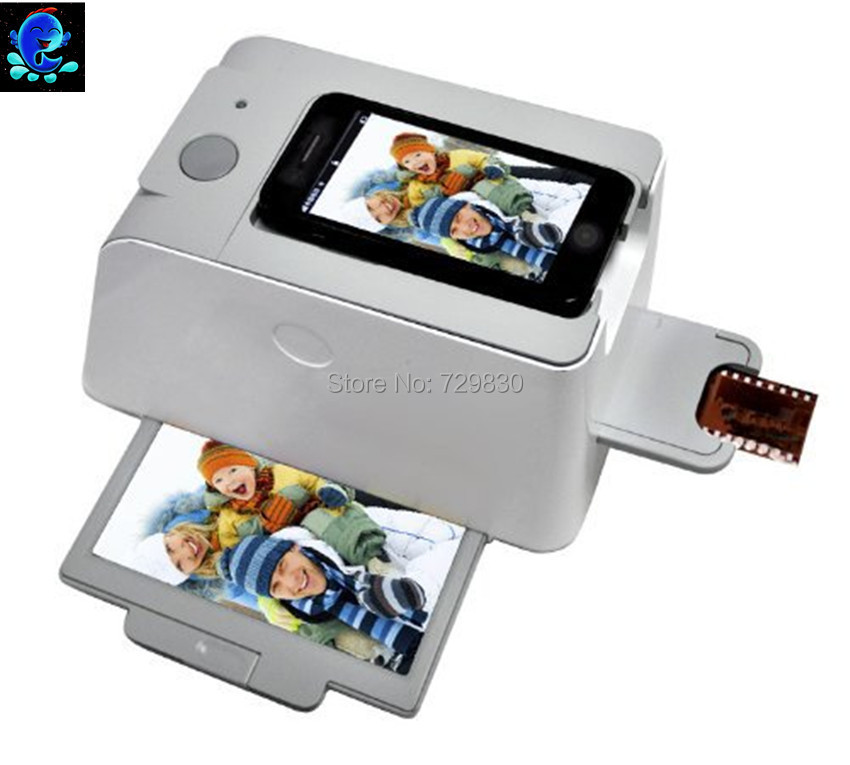 Free Shipping High Quality Smartphone Scanner ,Photo Scanner 35mm Negative Film and Slide Scanner APP 1800 DPI Mobile Scanner(China (Mainland))