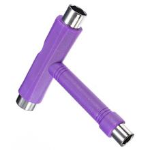 Buy Hot Roller Rollerskate Skateboard Tool Scooter 1 T Skate Board Tool + Allen Key purple for $3.22 in AliExpress store