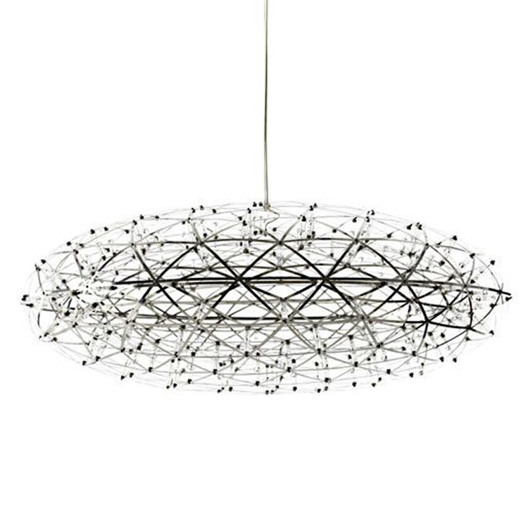 2015 Pendant Light Ikea New Arrival Modern Lampshade Chandelier Moooi Raimond Double Stainless Steel Etching Led Oval Fireworks(China (Mainland))