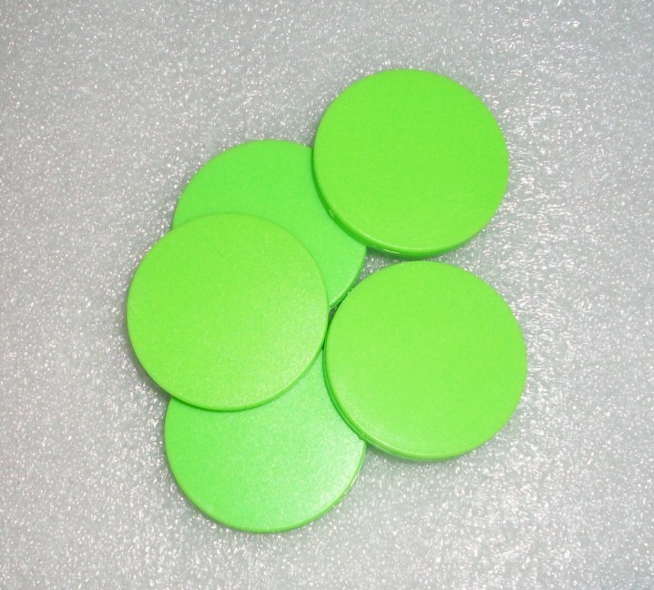 125 k low frequency RFID coin card patrolling button labels TK4100ABS shell brake special labels(China (Mainland))