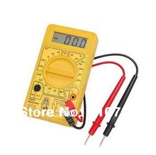 600V Volt Ohm ACV Multimeter Digital Electronic Tester DT-830B Instrument Equipment Measure Lab Workshop DIYers Home Application(China (Mainland))