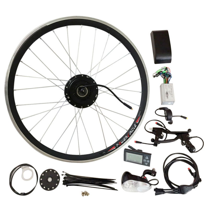 JS 250W/350W/500W Electric Bike/Bicycle Hub Motor Kit Without Battery LED Console Display Wheel Motor For Bike 3000w Hub Motor(China (Mainland))