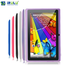 Hot iRulu Brand Tablet PC 7″ Android 4.4.2 Quad Core Real 1024*600 HD Dual Camera 2.0MP  Support 3G WIFI Highest Version