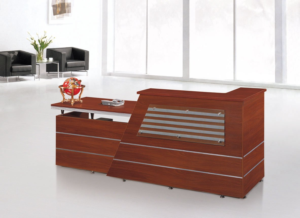 aliexpress popular modern office reception desk in office