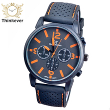 Fast Ship Brand Men Slim Stainless Steel Analog Silicone Quartz Fashion Sport wristwatches Student Watches Male Military watch