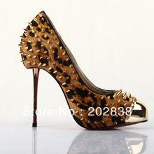 MOQ1-2012 fashion real leather women' dress shoes,brand design.5516(China (Mainland))