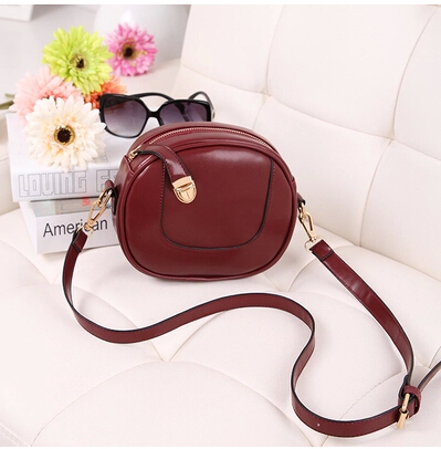 2015 New Vintage women leather handbag small mini bag women shoulder bag crossbody clutch bag bolsas femininas(China (Mainland))