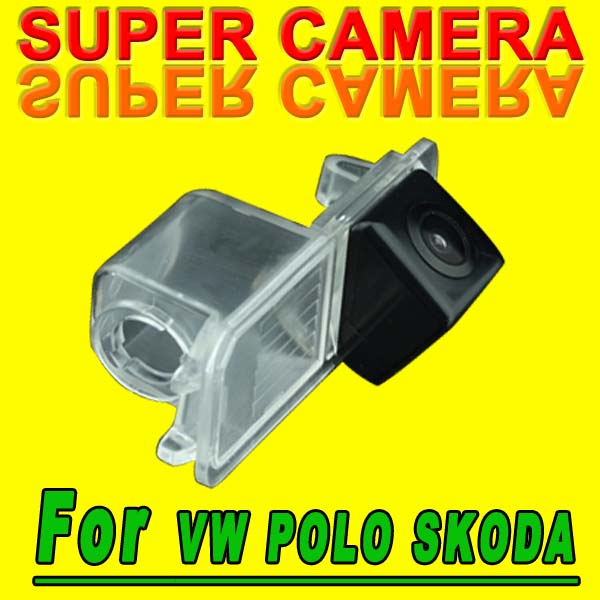 For Sony CCD VW Skoda Seat Leon Leon4 Polo Superb Passat Jetta Altea CAR Back Up Parking Reverse car CAMERA(China (Mainland))