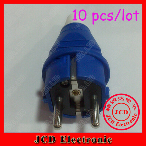 Электрическая вилка Jcd 10 e/012 AC 250 IP44 16 , EN,  E-012