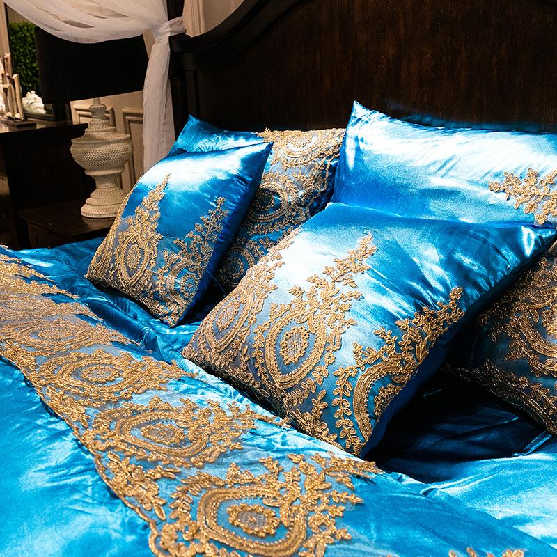 Promoci n de fundas de almohada de encaje compra fundas - Fundas nordicas algodon egipcio ...