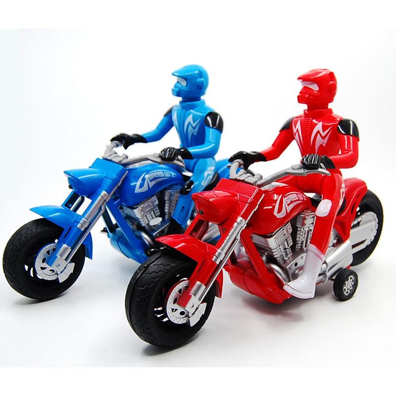 WJA1329 wholesale simulation Prince Harley motorcycle electric toy car model sound and light music 520g Toy vehicles(China (Mainland))