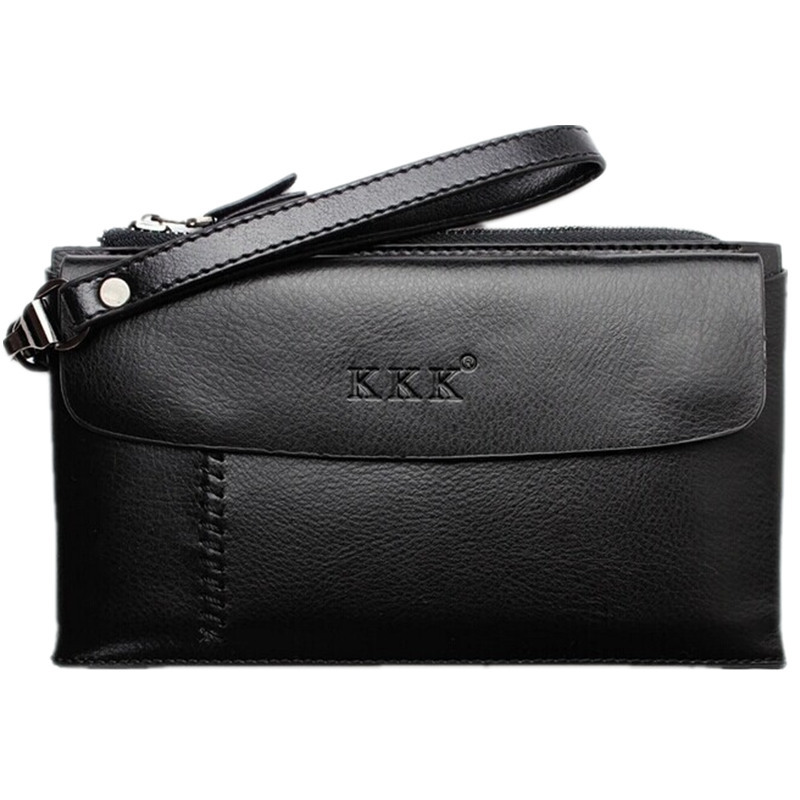Men Clutch 100% Genuine Leather Clutch Commercial Clutch Bag Cowhide Wallets Multi Function Cowhide Man Bag Free Shipping N022(China (Mainland))