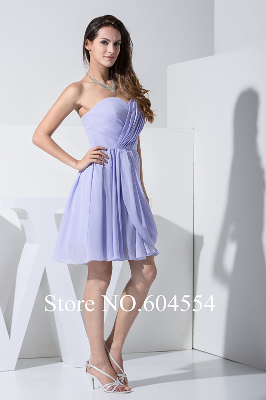 popular pictures short bridesmaid dresses