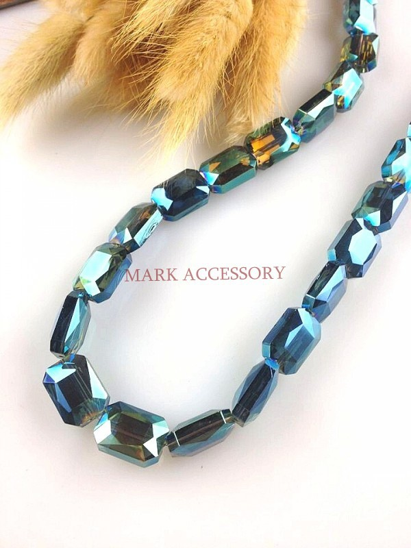 Free Shipping 50pcs Faceted Glass Crystal Lovely And Emerald Green Beads 10x14mm Rectangle Color For Jewelry Making<br><br>Aliexpress