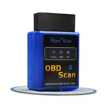 V2.1 mini ELM327 Advanced OBD 2 Scan Tools Auto Car Diagnostic Scanner OBDII OBD2 Bluetooth ELM 327 Car detector Diagnostic Tool