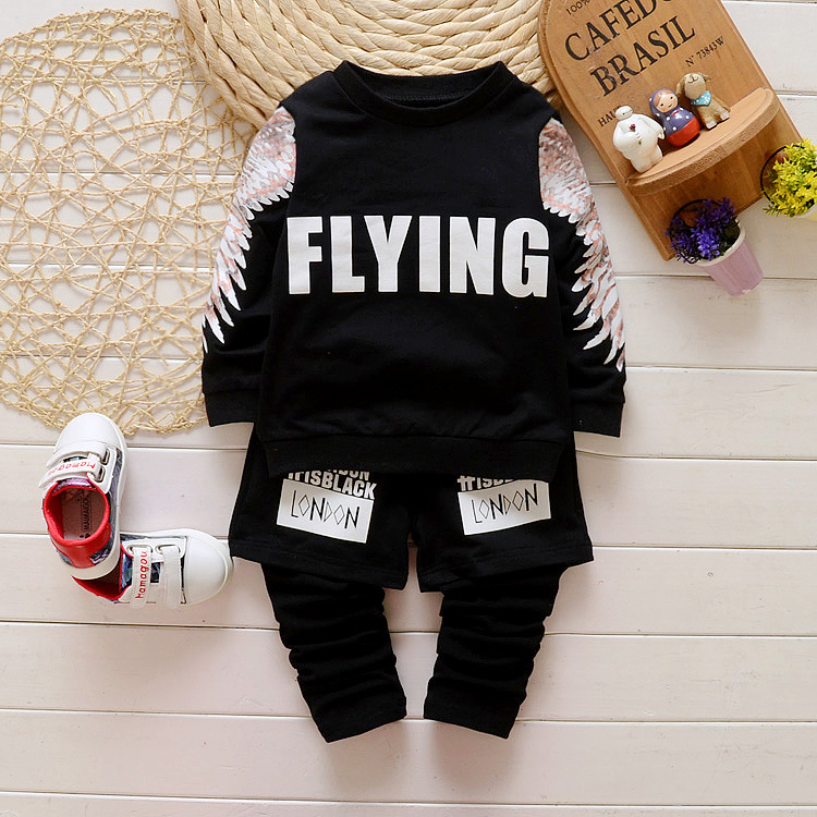 Baby Boy Clothes 2016 Brand Summer Kids Clothes Sets T-shirt+pants Suit Clothing Set Letter Printed Clothes Newborn Sport Suits(China (Mainland))