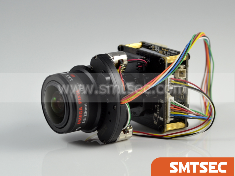 3.6-10mm Motorized Zoom Lens + POE Module + 5.0MP H.265 IP Board Camera Module SONY IMX178 Hisilicon 3516A NEW (SIP-E178AMPLC)(China (Mainland))