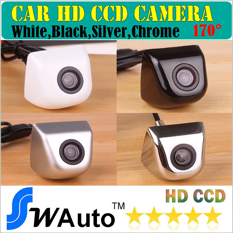 HD CCD Waterproof Wire Car Rearview Rear View Camera Vehicle Parking Reverse System (Optional: foldable monitor/ LCD Mirror)(China (Mainland))