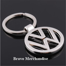 automobile car styling vw logo badge emblem mark 3D key ring chain keyring keychain