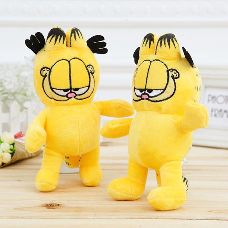 NEW 1pcs Lovely Garfield Plush Toy 18CM cats Stuffed Cartoon Anime Dolls Children Baby Stuffed Toys For Kids Gift(China (Mainland))