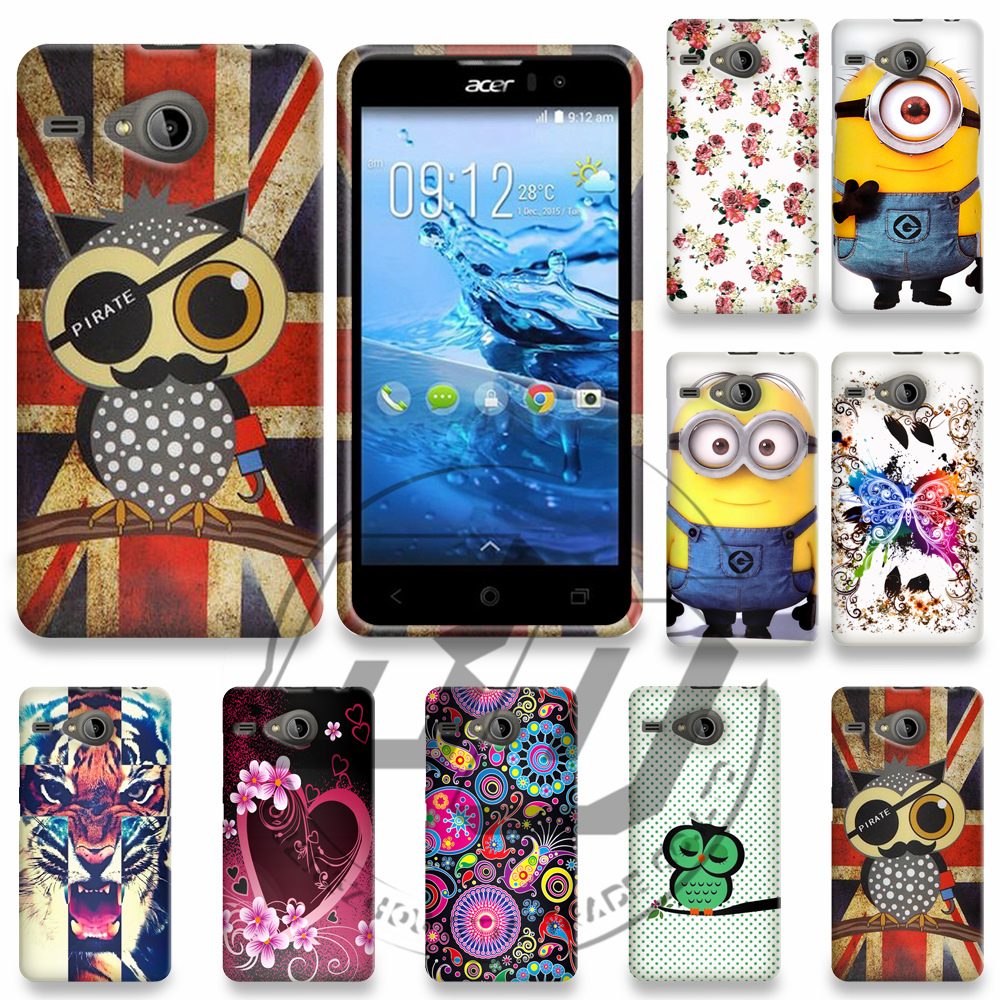 For Acer Liquid Z520 High Quality Printing Cartoon TPU Printing Solf Gel Case Back Cover Phone Case(China (Mainland))
