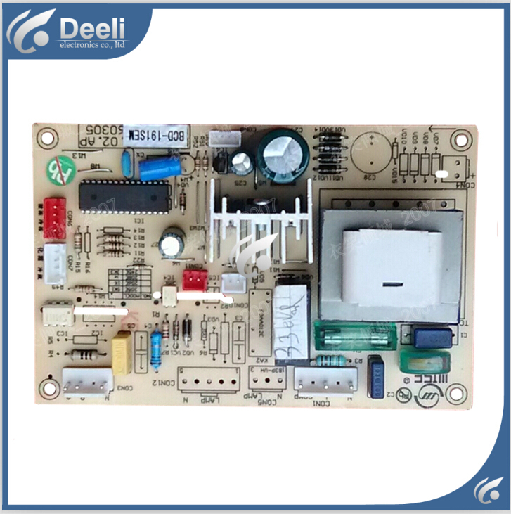 95% new Original good working refrigerator pc board motherboard for bcd-191se on sale