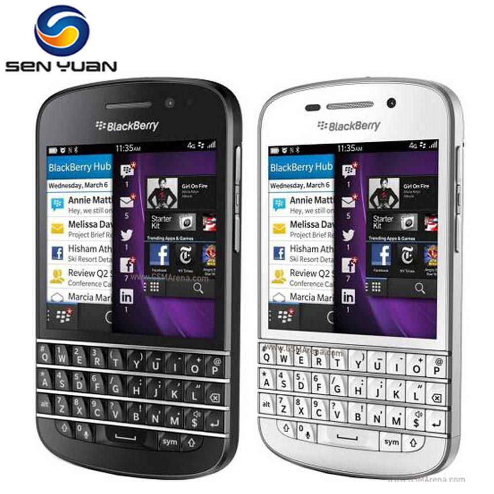 "Original Blackberry Q10 Cell Phone Mobile phone 3.1"" Dual Core 8MP 2GBRAM 16GB ROM 3G &4G GPS WIFI QWERTY cellphone(China (Mainland))"