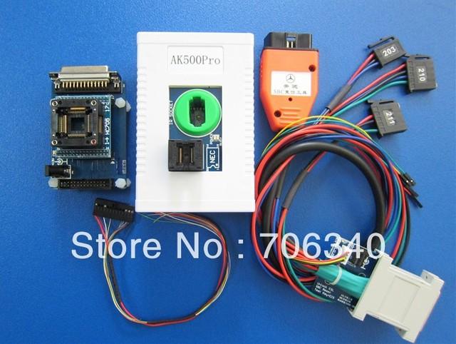 AK500Pro AK500 PRO Super Mercedes Benz Key Programmer Without Remove ESL ESM ECU