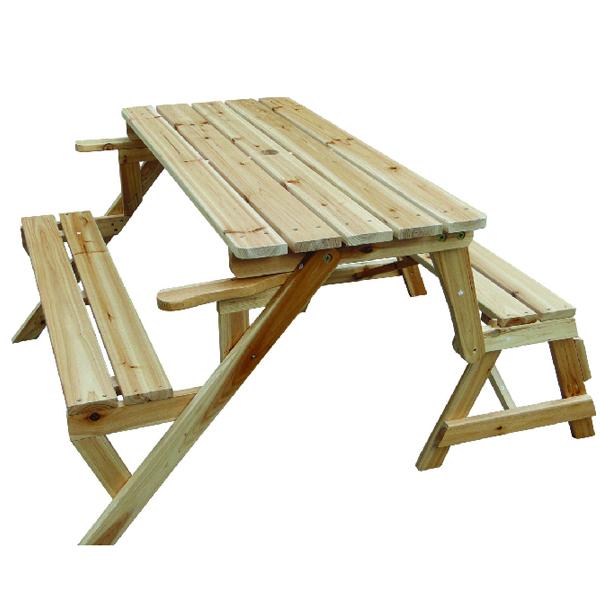Складной стол для пикника из дерева своими руками