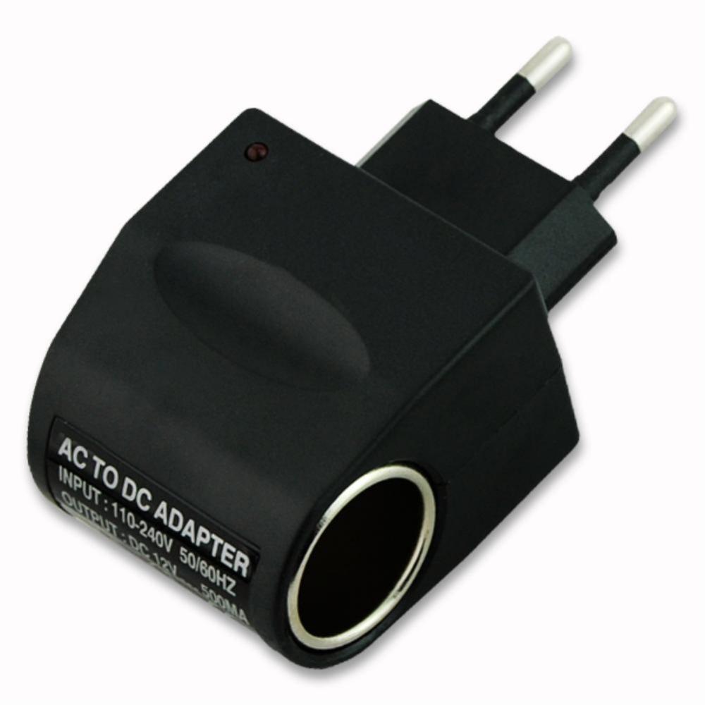 110V-220V AC To 12V DC EU Car Power Adapter Converter Charger EE4104(China (Mainland))