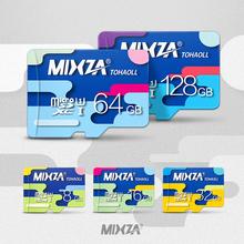 Mixza micro sd card memory card 8GB/16GB/32GB/64GB/128GB real capacity class 10 memory card free shipping(China (Mainland))