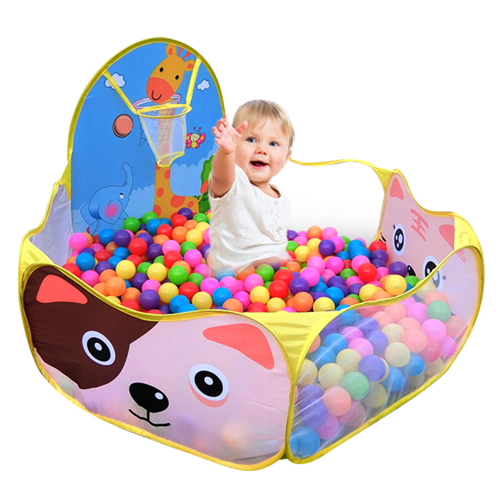 Cartoon Kids Play Tent Toy Children Kid Ocean Ball Pit Pool Game Play Children Play Tent Toy Children's Lodge Play House Tent(China (Mainland))