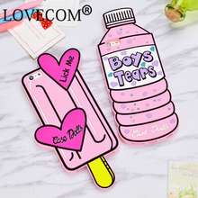 Hot Sales Water bottle & Ice Cream Soft Silicon Phone Back Cover For iPhone 5 5S SE 5C 6 6S 6Plus 6SPlus Phone Case Coque(China (Mainland))