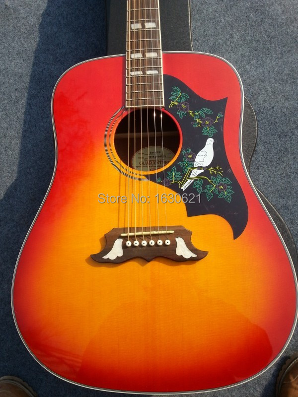 Гитара Chibson ( Chinese Made GB ) 2015 + + Cherryburst Chibson , 1964 Dove managing projects made simple