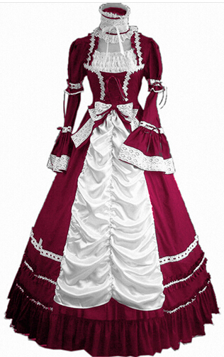 The 2016 New Women Summer Dress Party Gothic Lolita Halloween Costumes Victorian Halloween for GirlsОдежда и ак�е��уары<br><br><br>Aliexpress