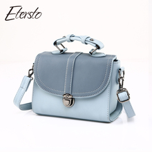 Etersto 2017 Women Bag Leather Handbags For Teenager Girl Fashion Female Messenger Bags Luxury Ladies Casual Crossbody Bag(China (Mainland))