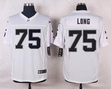 Oakland Raiders #11 Sebastian Janikowski #4 Derek Carr Elite White and Black Team Color high-quality free shipping(China (Mainland))