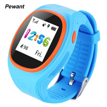 Original Pewant MTK2503 Kids Smart Watch Phone Children GPS Tracking Smartwatch With WIFI SOS Safe Monitor For IOS Android Phone(China (Mainland))