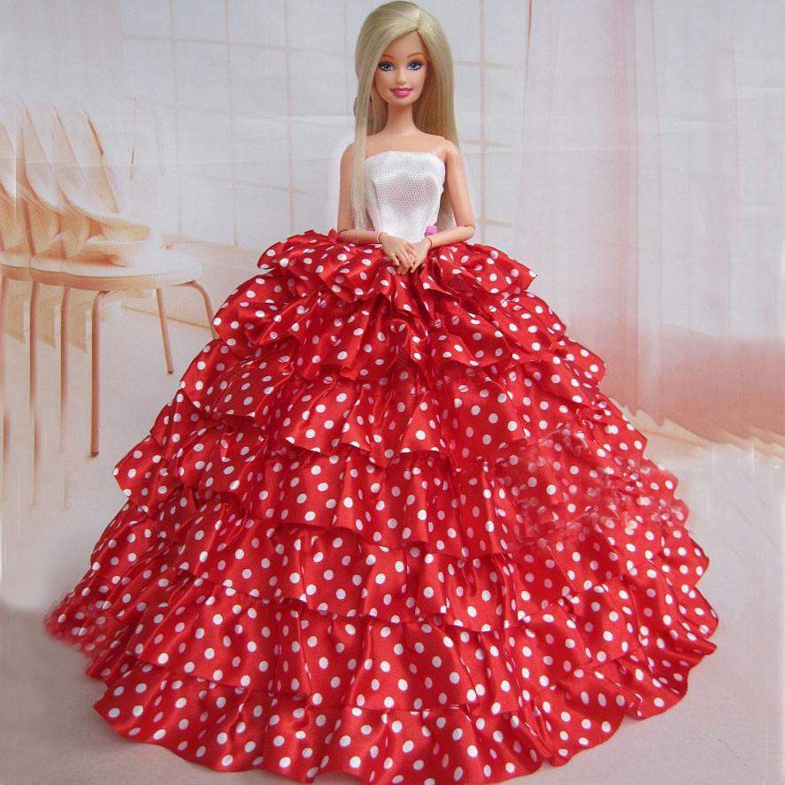 смотреть платья для барби фото