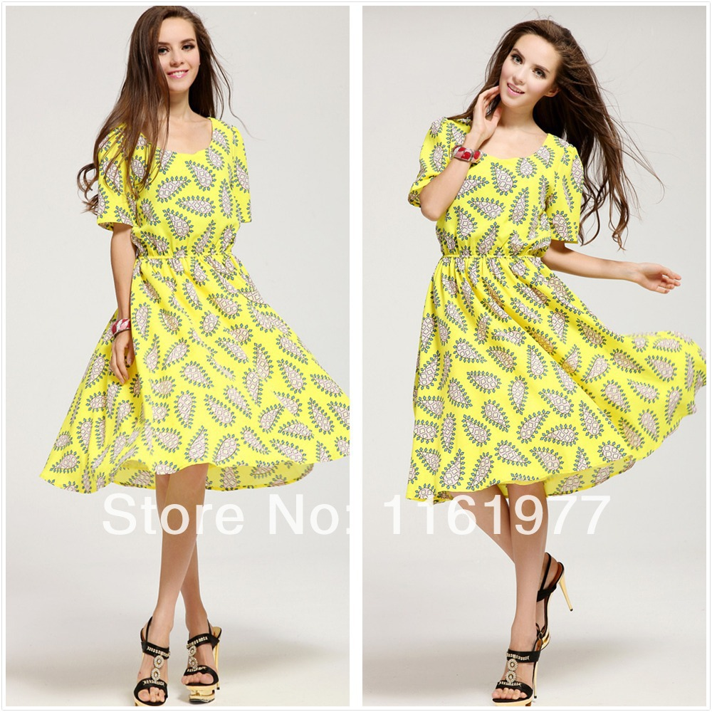 New Arrival Casual Party Casual Dress For Women.Loose Promo Dress.Beach Summer Dress Plus Size ...