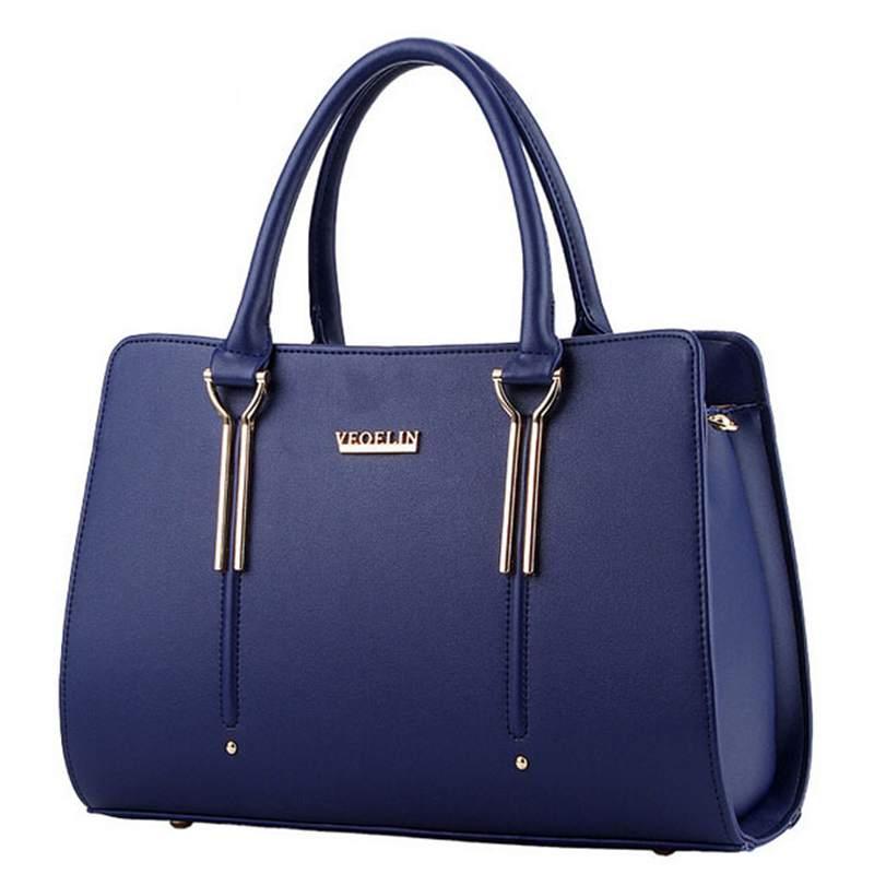 2016 Famous Brand Women Shoulder Bags Casual Women Handbags Ladies Tote Bag Women Bag Designer Female PU Leather Handbags<br><br>Aliexpress