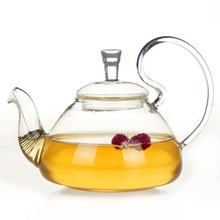 700ml borosilicate glass teapot kung fu flower tea coffee kettle with infuser Wedding Gift Heat Resistant tea set
