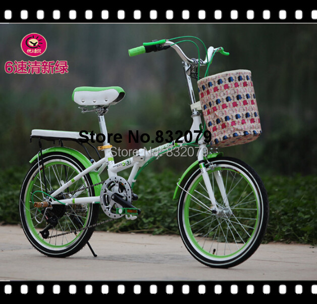 Free shipping high mini folding Bicycle/Wholesale lightweight China Excellent aluminium folding bike with comfortable riding(China (Mainland))